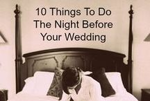 Wedding Planning Tips / Ideas to make your big day go smoother