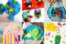 Ocean Activities / Ocean and Beach activities for little children.