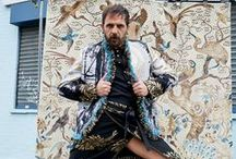 ANDREAS KRONTHALER FOR VIVIENNE WESTWOOD AW16/17 CAMPAIGN / 'East Meets West'- the campaign encapsulates a spiritual look- we're calling it 'Buddhist Unisex'