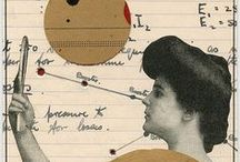 Collages, Drawings,Stamps and Print / by Claire Kane