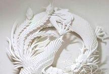 Paper / Papercraft, origami, cut-out art... / by Claudio Boguma