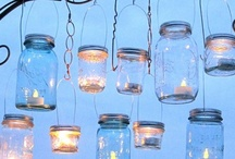My obsession w/ Mason jars <3 / by Michele Browning
