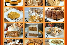 Pumpkin Recipes / by Desiree Tolle Forwoodson