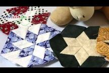 Quilts with Diamonds & Hexagons