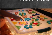 LIGHT TABLE PLAY / by Dawn Marelli