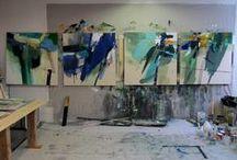 Studio Spaces / by Jacqueline Maldonado Art & Design