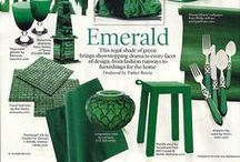 Pantone 2013 Color of the Year-- Emerald Green