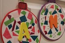 KIDS CHRISTMAS/ WINTER CRAFTS / by Dawn Marelli