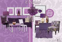Pantone 2014 Color of the Year Radiant Orchid