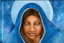 Blessed Mother / Images of the Blessed Mother, the Great Goddess, She Who Hears the Cries of the World.