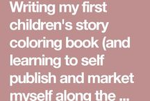 Coloring Storybook / An illustrated story that children can color