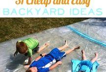 Kiddie Fun Outdoors & Games / by Stephanie Pate