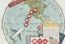 travel layouts / by Heather K
