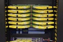 Data Center Cabling / Amazing examples of data center network cabling.