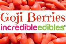 Incredible Edibles® Goji Berry Recipes / Use your homegrown Incredible Edibles® Goji Berries in any of these healthy recipes approved by a Registered Holistic Nutritionist.