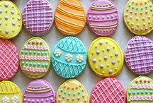 Easter / easter projects. crafts + food.