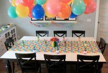 Kid Birthday Party Ideas / by Ashley Palin