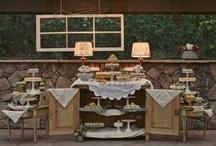.dessert tables.