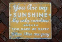 my sunshine☼ / by Linda Emerson