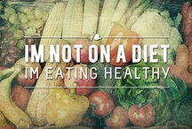 Food / Being healthy may include food, but it begins with a healthy mentality of how you want to feed your body the nutrients it needs. God gave us one body.  / by Lisette Centeno
