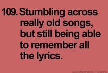 Bands, Singers & Lyrics / by Nicole De Lay-Hyatt