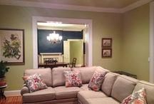 Living Room needs a Little Sparkle