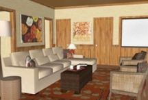 Warm Welcoming Family Room