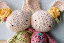 Amigurumi Crochet Characters - Deramores / Amigurumi, crochet characters, Deramores, knitting patterns, crochet patterns, knit, knitting, crochet, knitting tutorial, yarn, yarn store, yarn shop, yarn inspiration, knitting inspiration, crochet inspiration, knitwear, women's knitwear, knitted sweater, knitted jumper.