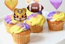 Tailgating + LSU Football / LSU Football fashion and tailgating party ideas