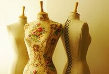 Mannequins / Some beautiful mannequins here including a few of my own designs. www.corsetlacedmannequins.co.uk #mannequin #dressform #display #vintagemannequin #antiquemannequin