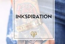 // Inkspiration / Tattoos are a way of creativity and art combined for a bold statement, represent yourself and break out of the mold. #fashion #bangles #style #shopping #tattoos #ink