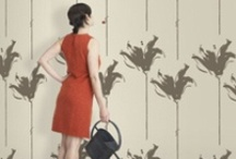 LOVELY WALLPAPER INTERIORS / Nice interiors with Tres Tintas BCN wallpapers