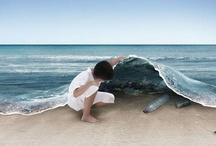 sea... / mar... / by MariaFatima El-Khatib Borges Gomide