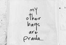 &BAGS / by &SUUS