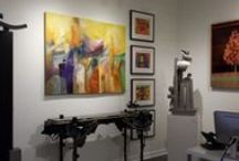 Gallery Happenings / Exhibits and Receptions. Art Openings and Artist Venues