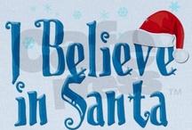 Christmas--Santas / by Barbara Thornton