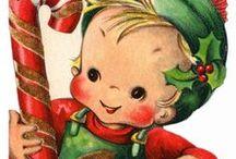 Vintage Christmas / by Linda Schuck