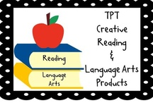 Creative Literacy Resources / Find creative products and freebies to add some pizzazz to your reading and language arts lessons!  Pinning Rules: Pin only one paid product per day along with a  ratio of 3:1 (3 freebies/ideas/blog posts to 1 paid product). Mark all paid products with a $ sign. Thanks!
