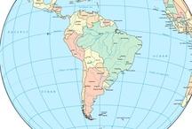 """south america"" - places that met... / ""américa do sul"" - lugares que conheci... / by MariaFatima El-Khatib Borges Gomide"