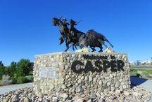 Wyoming, Casper / Shots of and around Casper, Wyoming