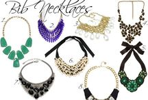 necklace, bib, statement / design ideas, necklaces