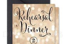 Digibuddha Rehearsal Dinner Invitations / Digibuddha  |  Invitation + Paper Co.  |  digibuddha.com