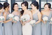 Silver + Gray Wedding Inspiration / Digibuddha  |  Invitation + Paper Co.  |  digibuddha.com