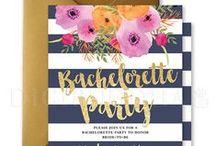 Digibuddha Bachelorette Party Invitations / Digibuddha  |  Invitation + Paper Co.  |  digibuddha.com