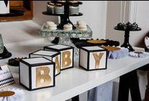 Baby Shower Inspiration  |  Boy + Gender Neutral / Digibuddha  |  Invitation + Paper Co.  |  digibuddha.com