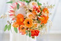 Orange Wedding Inspiration / Digibuddha  |  Invitation + Paper Co.  |  digibuddha.com