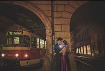Prague Pre Wedding / a vintage pre wedding portrait session in Prague with Hong Kong couple Janice & Joel