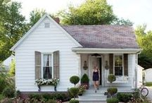 Tiny Home / My dream to live in a cozy, cute cottage someday.