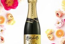 Digibuddha Wine Labels + Champagne Labels / Digibuddha  |  Invitation + Paper Co.  |  digibuddha.com