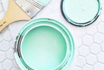 Turquoise and Mint / Colour inspiration